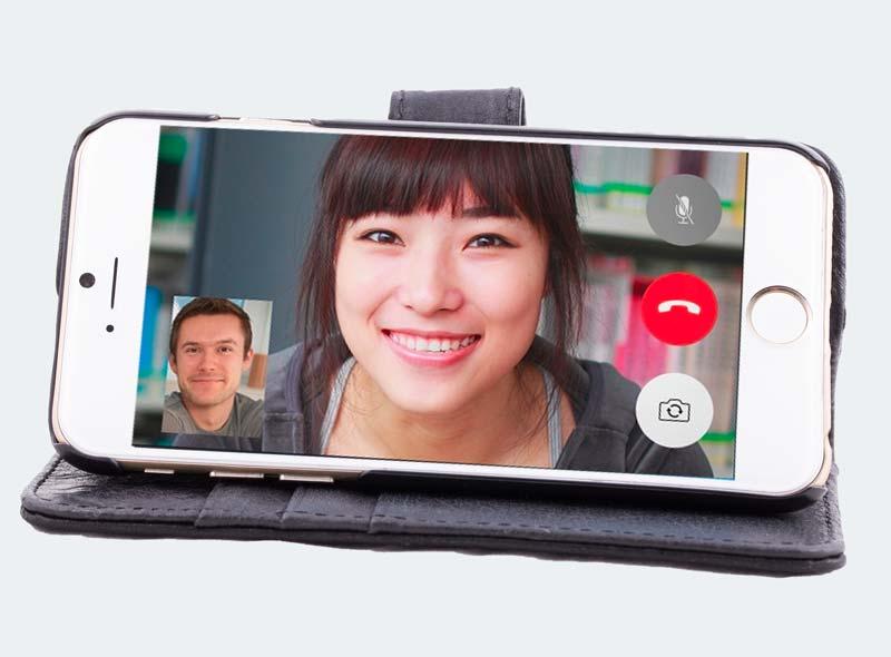 iPhone 6/6s hoesje handig video bellen