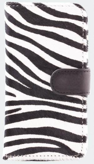 Zebra-bookcase-iphone-6-voorkant