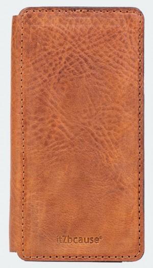 handgemaakte bookcase iphone 6 bruin