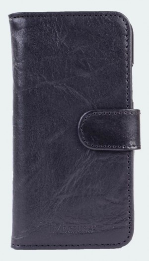 bull-leather-bookcase-iphone-x-zwart